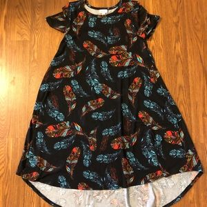 LuLaRoe Carly Dress, like new!